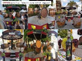 ALQUILER ATRACCIÓN CARRUSEL MANUAL VENDIMIA www.medirflash.com