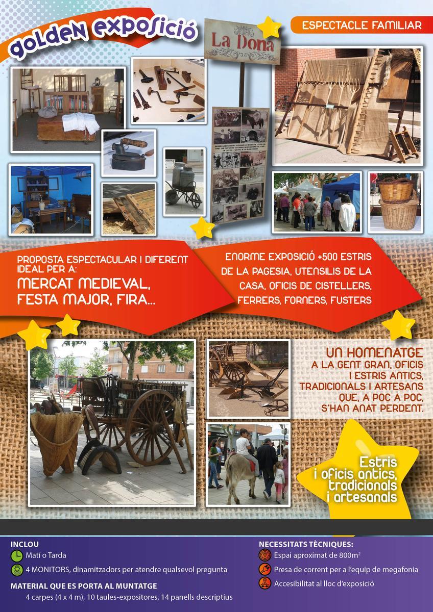 EXPOSICIÓN DE OFICIOS ANTIGUOS, ARTESANALES Y TRADICIONALES www.medirflash.com