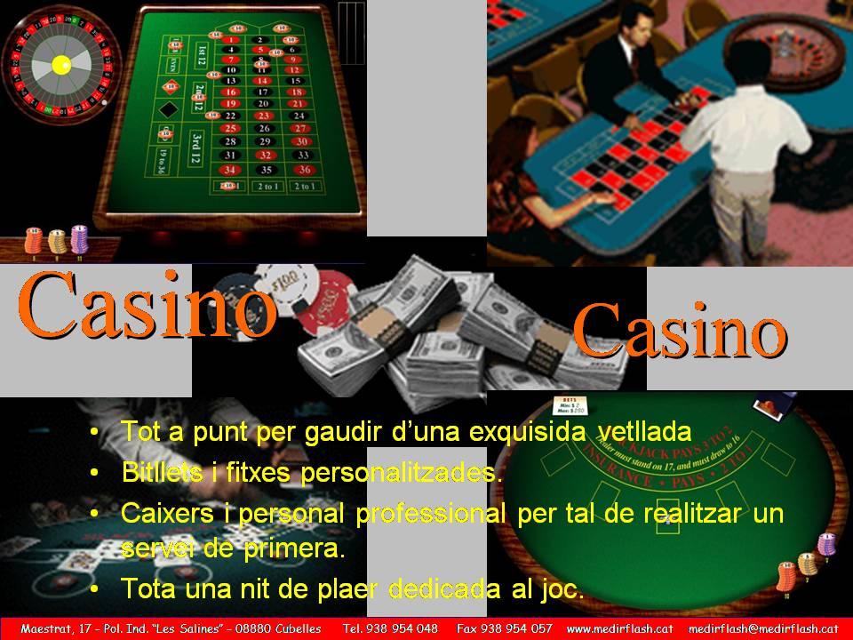 ALQUILER CASINO www.medirflash.com
