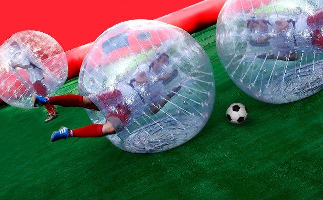 ALQUILER BUBBLE FOOTBALL www.medirflash.com