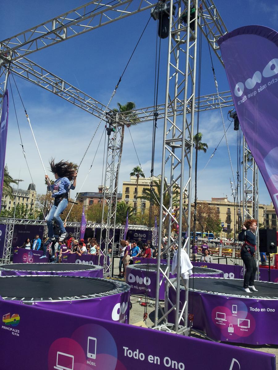 ALQUILER JUMPING TRUSS SPINNING www.medirflash.com
